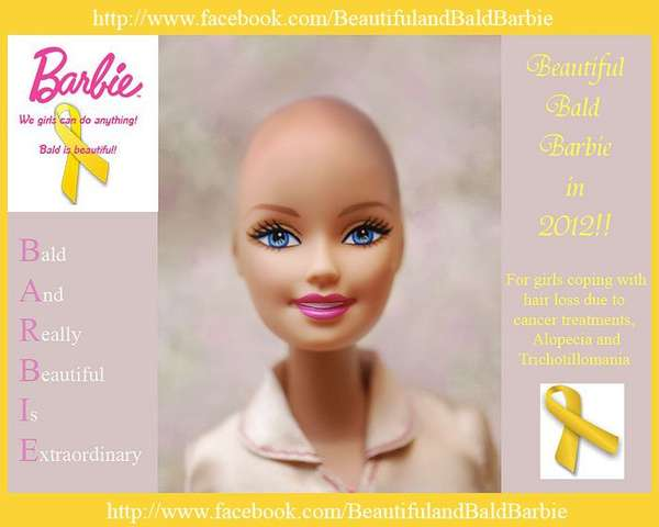 Hairless Iconic Dolls