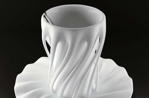Manipulated Drinking Mugs