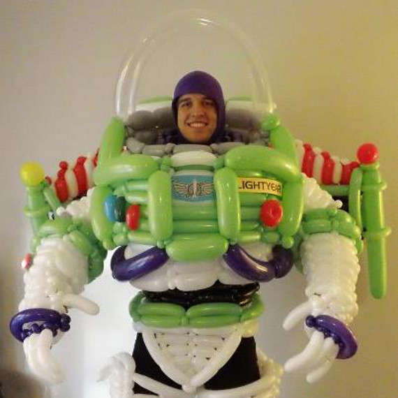 Cartoony Inflatable Costumes