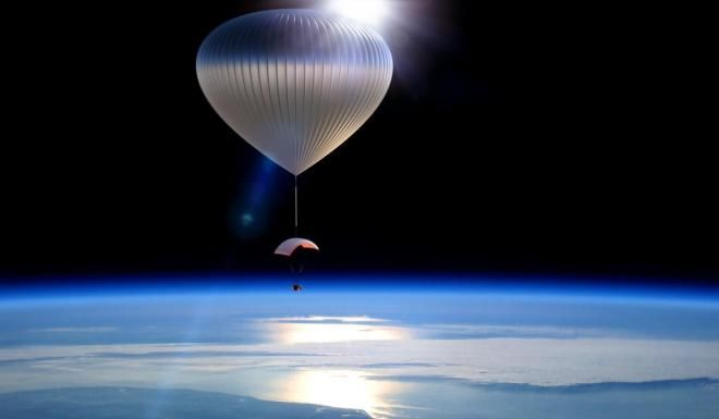 Balloon Space Travel