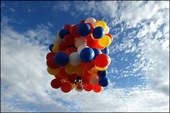 Toy Balloons as Air Travel