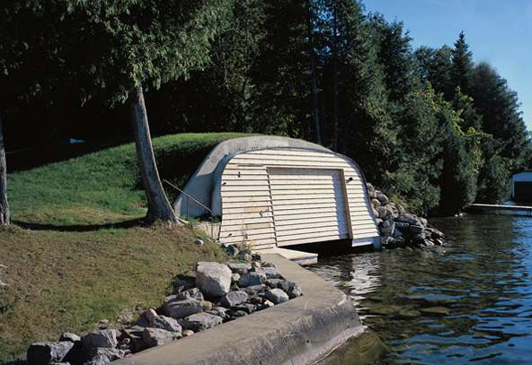 Hobbiton Boat Houses