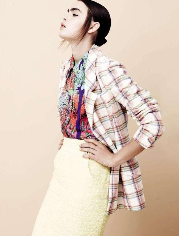 Clashing Pastel Fashion