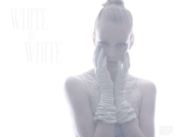 Bambi White on White
