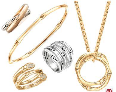 Gilded Bamboo Jewelry