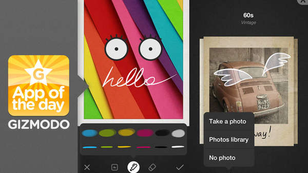 Personalized Photo Messaging Apps