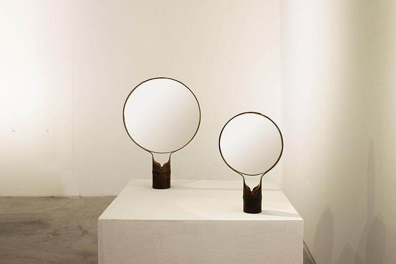 Elegant Bamboo Mirrors