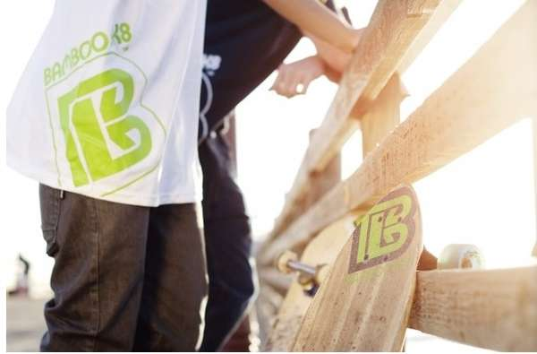 Graphic Eco-Friendly Skateboards