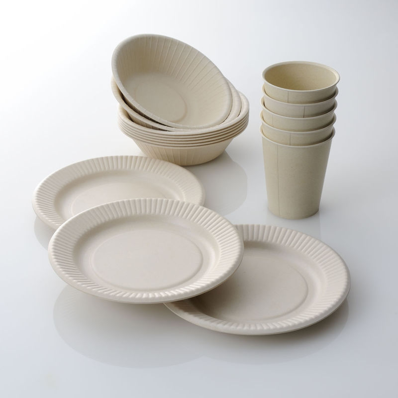 Reusable Bamboo Dishware Bamboo Tableware