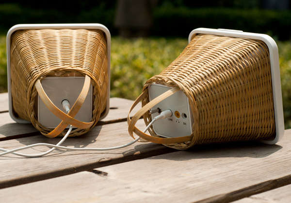 Bamboo Wicker Sound Systems