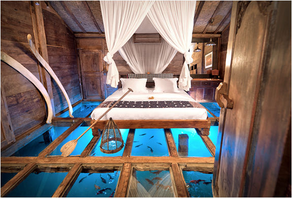 Glass-Bottomed Vacation Homes