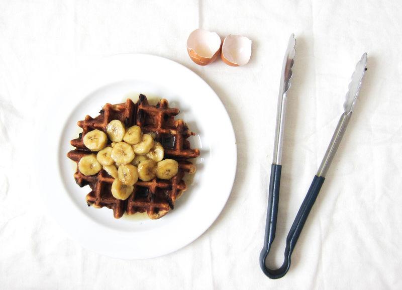 Bacon Banana Waffles