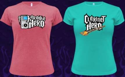 Band Geek Hero Shirts