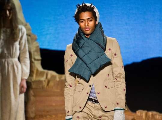 Dapper Knitted Menswear