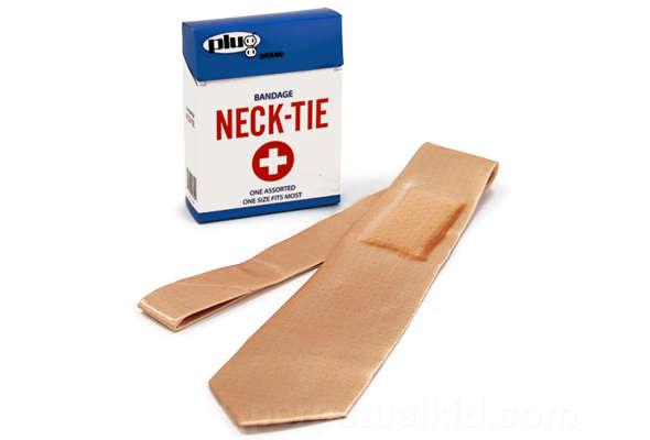 Deceptive Bandage Neck Ties