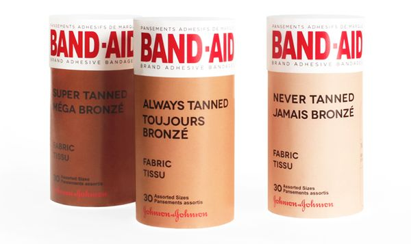 Band-Aid Tanned packaging