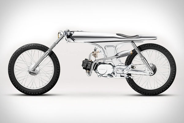 Insanely Slim Motorbikes