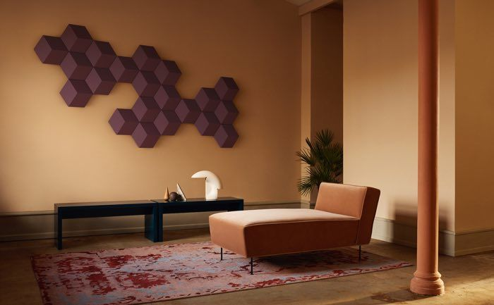 Hexagonal Artwork Speakers