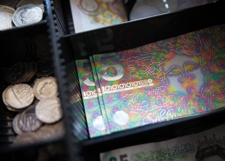 Psychedelic Currency Designs