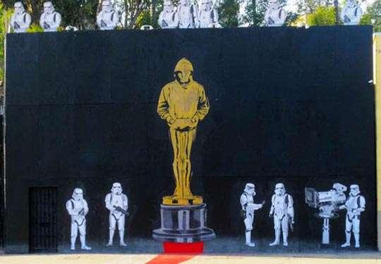 Movie Award Graffiti
