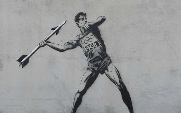 Banksy's Olympic Art