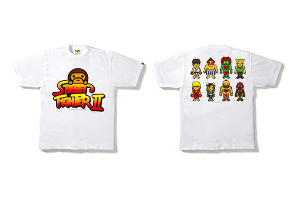 BAPE Street Fighter Tees