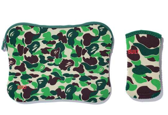 Bape x BUILT Macbook iPhone Sleeves