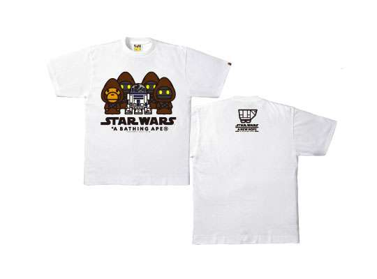 Bape x Star Wars T-Shirt Collection