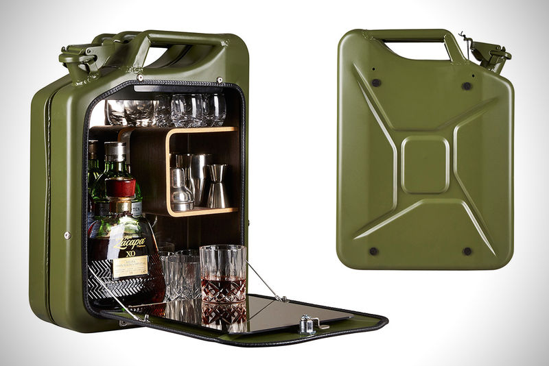 Canister Bar Cabinets