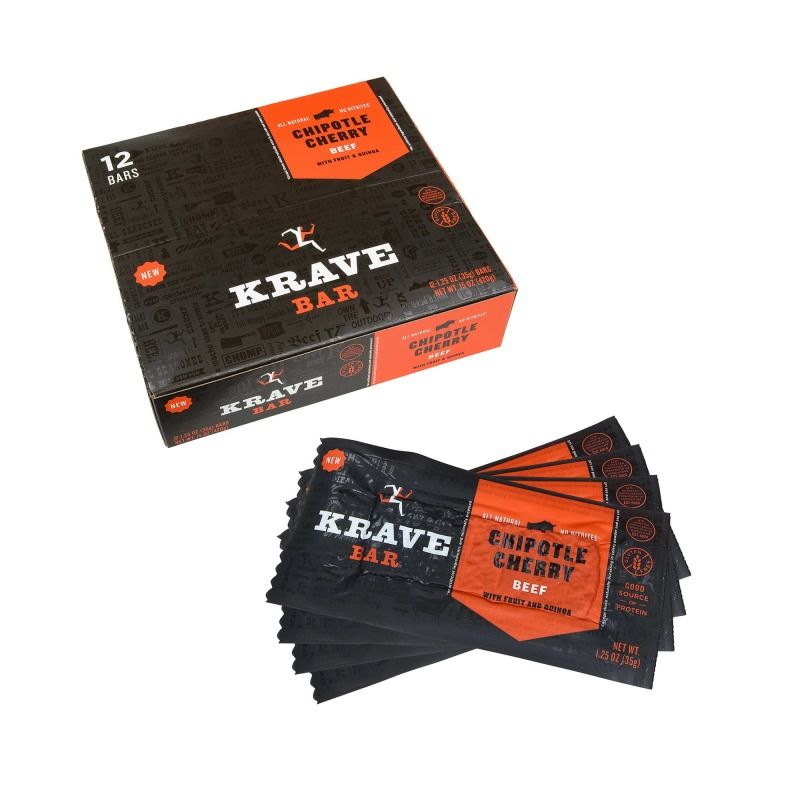 Jerky-Based Snack Bars