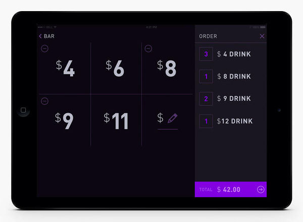 Virtual Bar Tab Apps