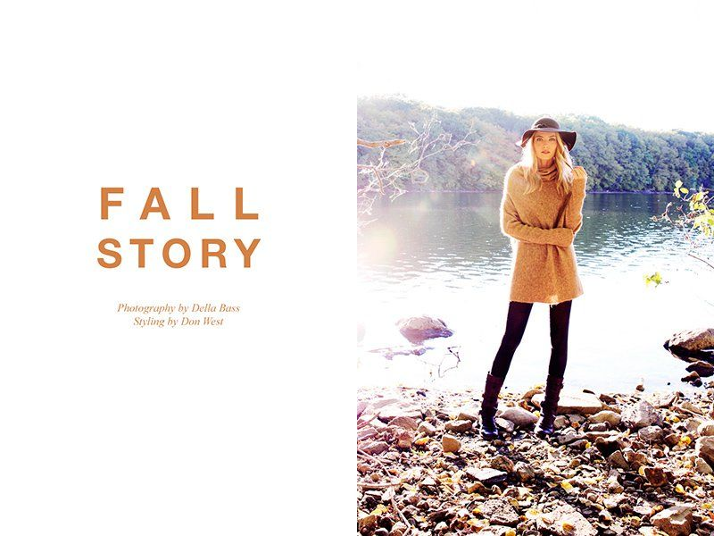 Sunny Fall Editorials