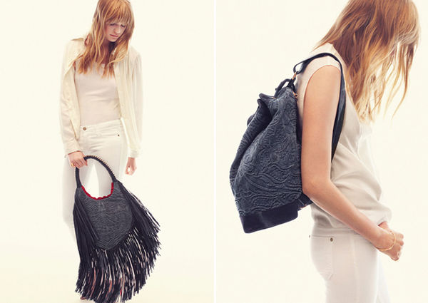 Long Fringe Clutch Collections