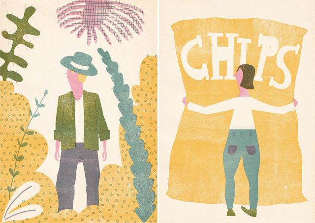 Amusing Pastel Illustrations