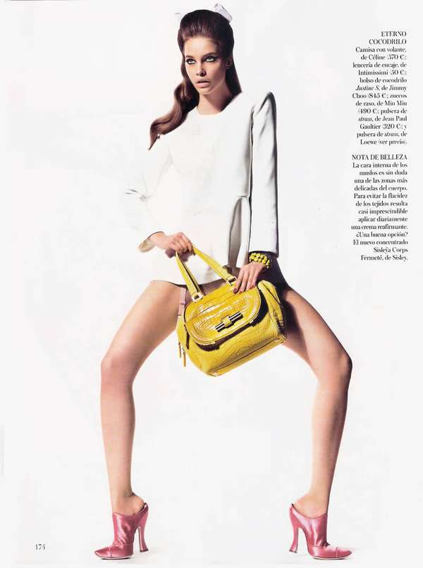 Provocatively Placed Purse Editorials