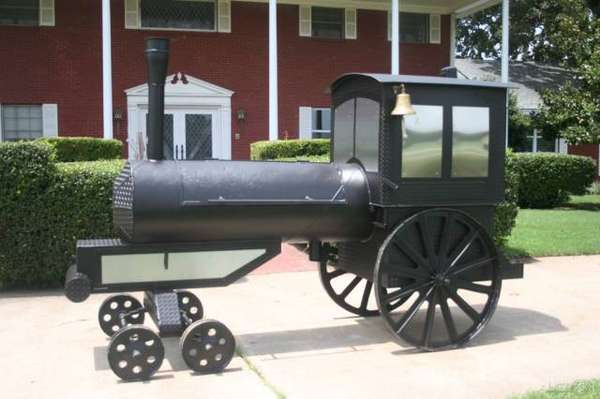 barbecue train
