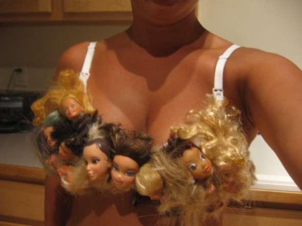 Bizarre Barbie Bras