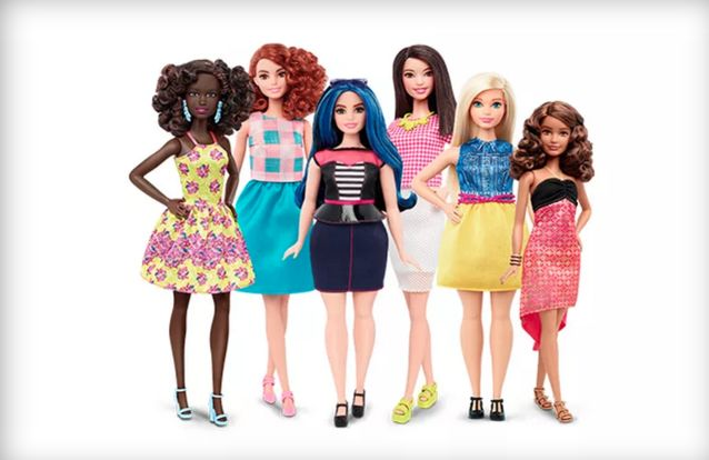 Diversely Shaped Dolls