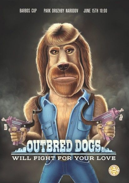 Macho Dog Show Ads