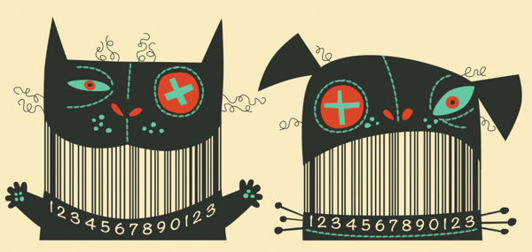 Illustrated Barcode Designs