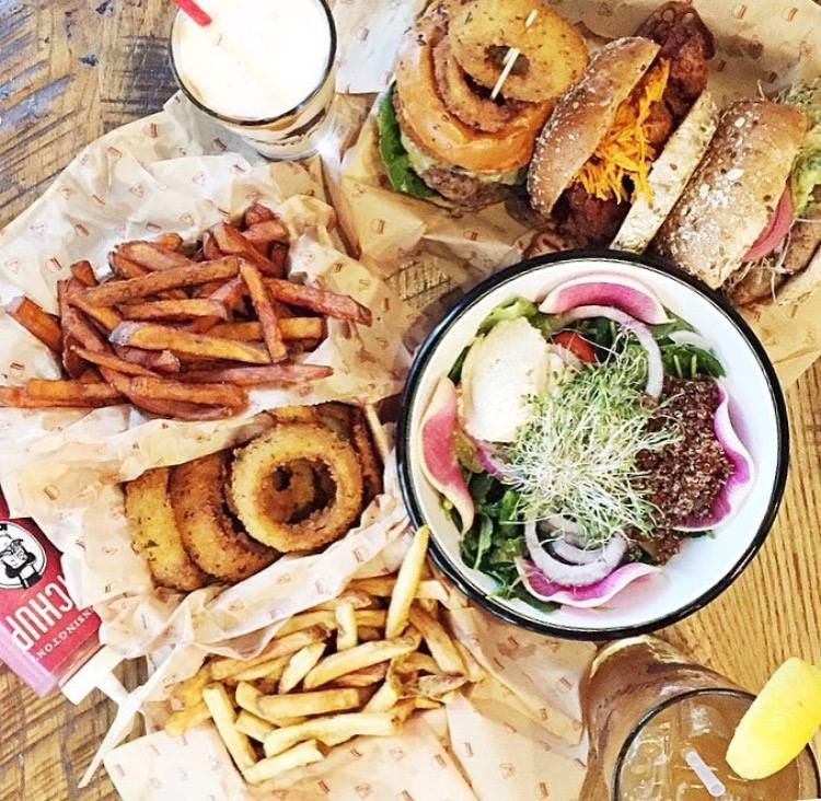 Healthy Alternative Burger Chains