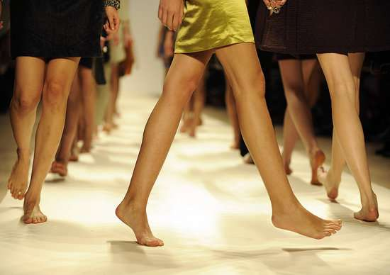 Barefoot on The Runway