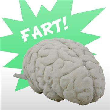 Barin Fart Whoopie Cushion