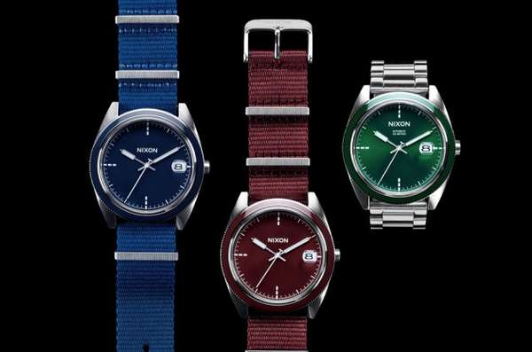 Holiday Hued Timepieces