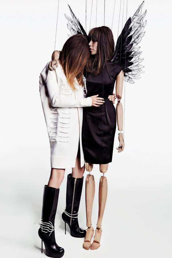 Marionette-Inspired Fashion Ads