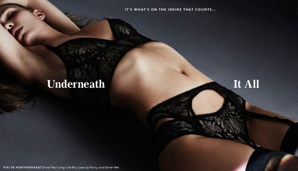Darkly Sensual Lingerie Lookbooks