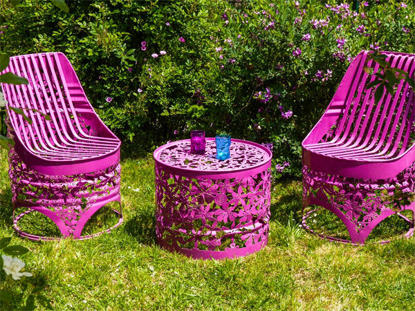Ornately Upcycled Barrel Seating Barrel Chairs