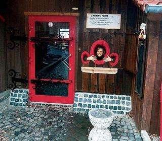German Pub Has Smoking Holes
