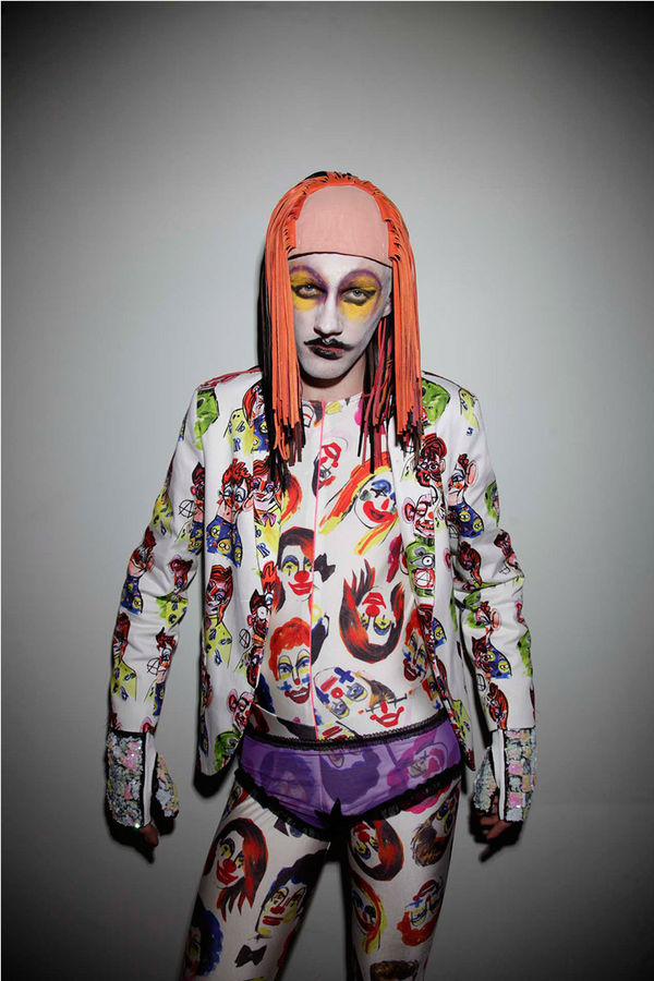 Creepy Clown Couture