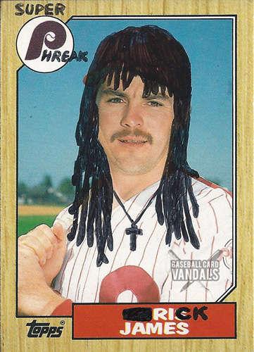 Vandalized Baseball Cards